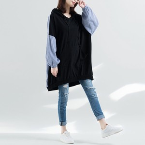 Food Stripe Plain Tunic One-piece Dress [2019NewItem]