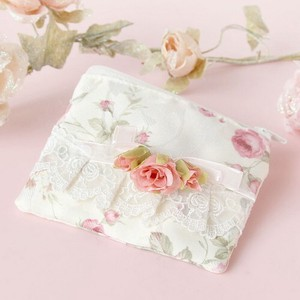 Rose Tissue Case Pouch