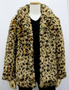 A/W Men's Fake Fur Jacket Leopard
