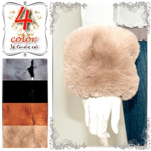 Eco Fur Arm Cover Wrist Use Free