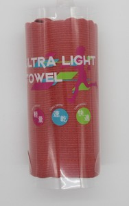 Japanese Paper Light Towel Red