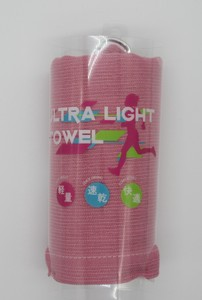 Japanese Paper Light Towel Pink