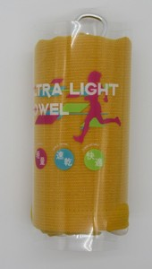 Japanese Paper Light Towel Yellow