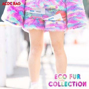 Eco Fur Shor Pants Vivid Fur Yumekawa Korea Fake Fur A/W