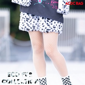 Eco Fur Shor Pants Dalmatian Fur Yumekawa Korea Fake Fur A/W