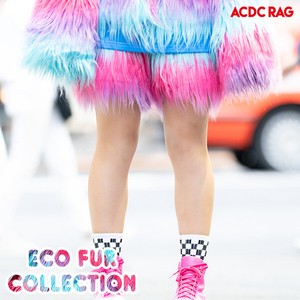 Eco Fur Shor Pants Neon Fur Yumekawa Korea Fake Fur A/W