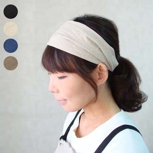 COTTON LINEN HAIRBAND ヘアーバンド