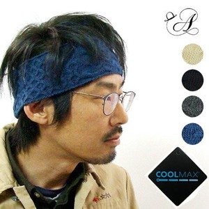 CoolMax JACQUARD HAIRBAND ヘアーバンド
