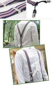 Double Clip Suspender 9 Colors
