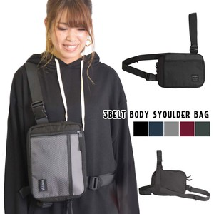 Belt Body Shoulder Bag Ladies Casual