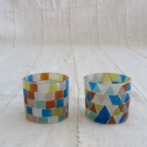 Mosaic Candle Stand