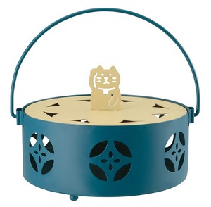 Mosquito Coil Stand Welcome cat