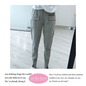 3 Colors Waist Pencil Pants