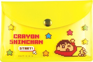 Crayon Shin Chan Pouch Sticky Note Whole Body