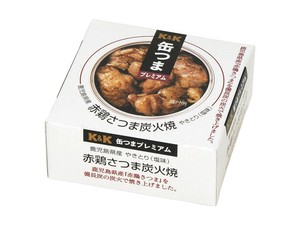 [Canned foods] K&K Canned Food Premium Kagoshima Red Chicken Satsuma Charcoal Grill EO