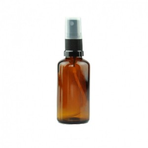Amber Light Shielding Black Spray Head Attached Aroma Storage Container