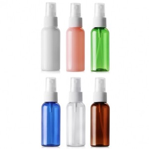 Light Shielding Plastic Bottle Spray Head Attached Aroma Storage Container