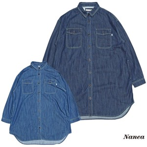 A/W A/W Denim Wide Shirt Tunic