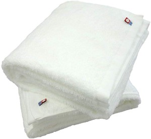IMABARI TOWEL Brand Bathing Towel 2 Pcs Set Plain White Series