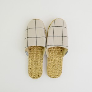 S/S Slipper Window Checkered