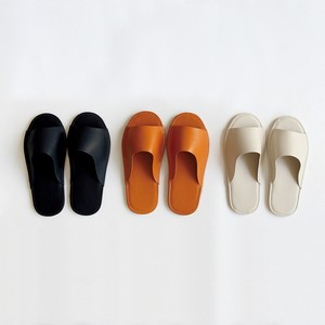 S/S Slipper Leather Open Toe