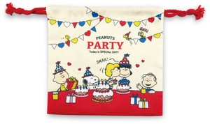 Snoopy Pouch Peanuts Party