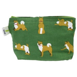 Mini Pouch Digital Camera Pouch Shibata Pocket Tissue Pouch Shibatasan Green