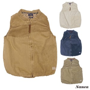 A/W A/W Dyeing CORDUROY Padding Switching Vest