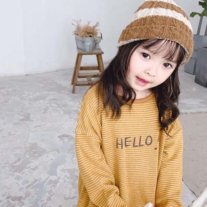 Children's Clothing Top Long Tea Shirt Kids Casual Korea
