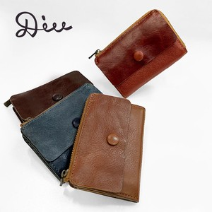Di Mini Wallet Wallet Coin Case Genuine Leather Wallet