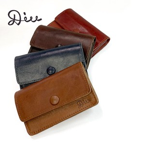 Card Case Genuine Leather Business Card Holder