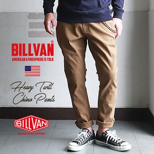 Heavy Twill Tapered Chino Pants Stretch