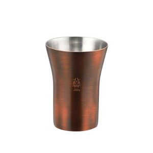 Stainless Plating Bronze Finish Tumbler