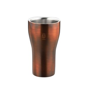Stainless Construction Plating Bronze Finish Tumbler
