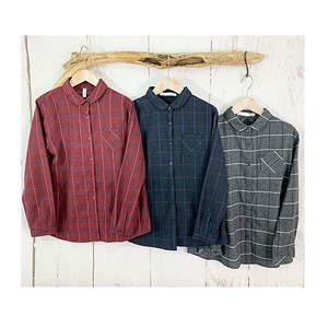 Round Color Shirt Gigging Checkered