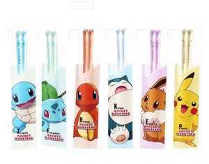 Pocket Monster Clear Chopstick Assort