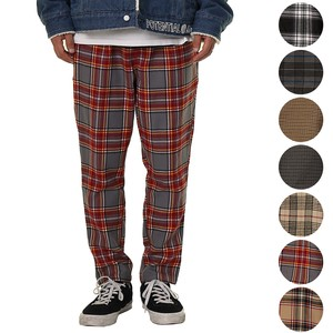 A/W 7 Colors Suit Set Checkered Gigging Tapered Pants