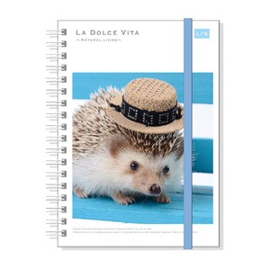 Photo Series Attached Hard Cover Ring Notebook Chair Dark Hray