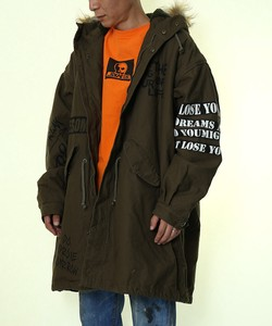 A/W Men's Decoration Big Mod Coat Military Jacket