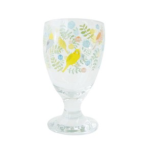 Juice Glass Small Birds