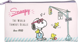 Snoopy Flat Pouch Shopping