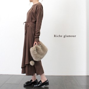 A/W Gigging Milling Multi Layered One‐piece dress.