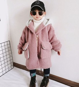 Children's Clothing Kids Girl Outerwear Thick Long Casual