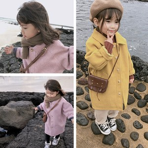 Children's Clothing Kids Girl Outerwear Thick Long
