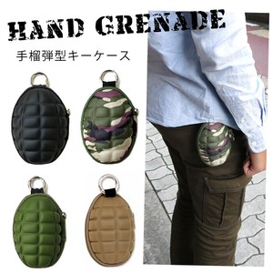 Grenade Coin Case Military Coin Purse Accessory Case