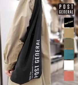 【POST GENERAL】ポストジェネラル ショッパーバッグ 6色