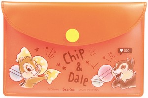 Disney Pouch Sticky Note Chip 'n Dale
