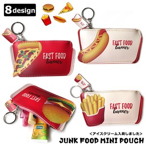 Mini Pouch Food Coin Case