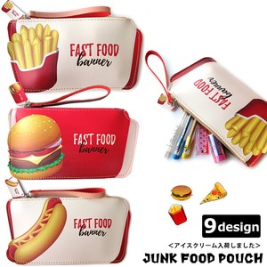 Food Pencil Case Accessory Case
