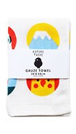 KOTORITACHI Gauze Hand Towel Small Birds
